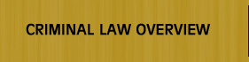 Criminal Law Overview